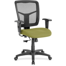 LLR8620990 - Lorell Managerial Mesh Mid-back Chair