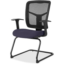 LLR8620261 - Lorell ErgoMesh Series Mesh Side Arm Guest Chair