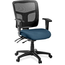 LLR8620138 - Lorell ErgoMesh Series Managerial Mid-Back Chair