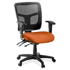 LLR8620194 - Lorell ErgoMesh Series Managerial Mid-Back Chair