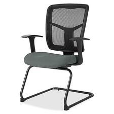 LLR8620232 - Lorell ErgoMesh Series Mesh Side Arm Guest Chair
