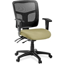 LLR8620158 - Lorell ErgoMesh Series Managerial Mid-Back Chair