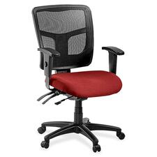 LLR8620195 - Lorell ErgoMesh Series Managerial Mid-Back Chair