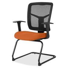 LLR8620294 - Lorell ErgoMesh Series Mesh Side Arm Guest Chair