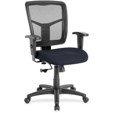 LLR8620966 - Lorell Managerial Mesh Mid-back Chair