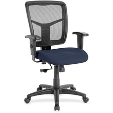 LLR8620952 - Lorell Managerial Mesh Mid-back Chair