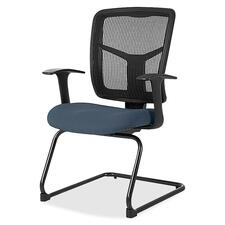 LLR8620284 - Lorell ErgoMesh Series Mesh Side Arm Guest Chair