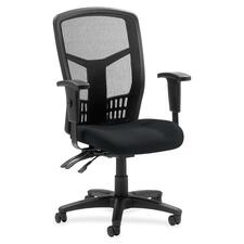 LLR8620049 - Lorell ErgoMesh Series Executive Mesh Back Chair