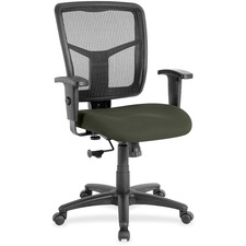 LLR8620967 - Lorell Managerial Mesh Mid-back Chair
