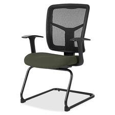 LLR8620267 - Lorell ErgoMesh Series Mesh Side Arm Guest Chair