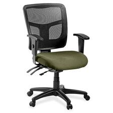 LLR8620134 - Lorell ErgoMesh Series Managerial Mid-Back Chair