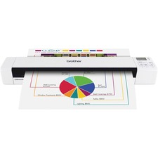BRT DS820W Brother DS820W Wireless Mobile Color Scanner BRTDS820W