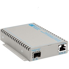 OmniConverter SE 10/100/1000 PoE Gigabit Ethernet Fiber Media Converter Switch RJ45 SFP
