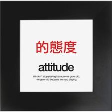 AUA MPATTITUDE Aurora Prod. Attitude Poster AUAMPATTITUDE