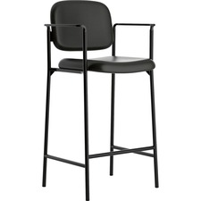 BSX VL636SB11 Basyx Fixed Arms Cafe Height Stools BSXVL636SB11