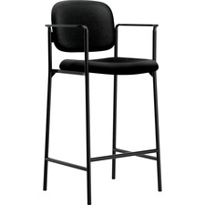 BSX VL636VA10 Basyx Fixed Arms Cafe Height Stools BSXVL636VA10