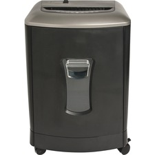 "Compucessory Micro-cut Shredder - Micro Cut - 16 Per Pass - for shredding Paper, Paper Clip, Staples, Credit Card, CD, DVD - 0.2"" x 0.5"" Shred Size - P-4 - 8.9"" Throat - 3 Minute Run Time - 30 Minute Cool Down Time - 29.15 L Wastebin Capacity - Graphite"