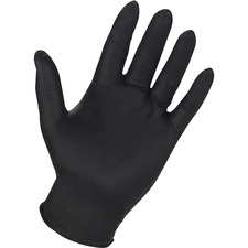 GJO 15372 Genuine Joe PF 6 mil Industrial Nitrile Gloves GJO15372