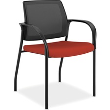 HON IS108CU42 HON Ignition Mesh Back/Glides MP Stacking Chair HONIS108CU42