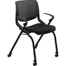 HON MN202ONCU10 HON Motivate Seating Nsting Flex-back Stack Chairs HONMN202ONCU10