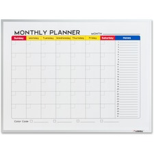 LLR19206 - Lorell Dry-Erase Magnetic Planner Board