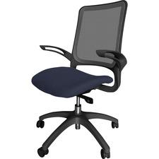 LLR2355001 - Lorell Vortex Self-Adjusting Weight-Activated Task Chair