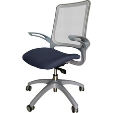 LLR2355101 - Lorell Vortex Self-Adjusting Weight-Activated Task Chair