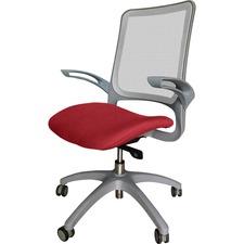LLR2355102 - Lorell Vortex Self-Adjusting Weight-Activated Task Chair