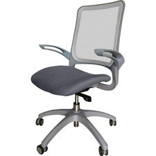 LLR2355105 - Lorell Vortex Self-Adjusting Weight-Activated Task Chair