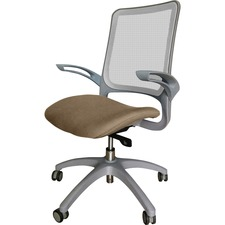 LLR2355106 - Lorell Vortex Self-Adjusting Weight-Activated Task Chair