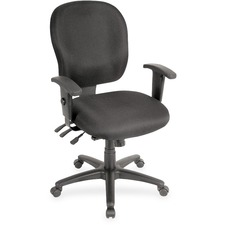 LLR33100 - Lorell Adjustable Waterfall Design Task Chair