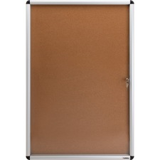 LLR 42706 Lorell Enclosed Cork Bulletin Boards LLR42706