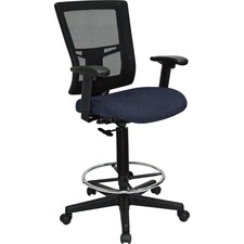 LLR4310001 - Lorell Breathable Mesh Drafting Stool