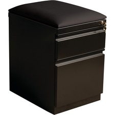 LLR49539 - Lorell Mobile Pedestal File with Seating