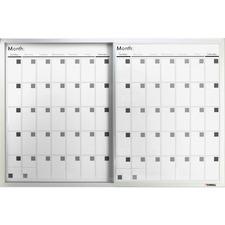 LLR52503 - Lorell Magnetic Dry-Erase Calendar Board