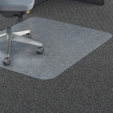 LLR69705 - Lorell Rectangular Straight Edge Carpet Chairmats
