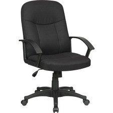 LLR 84552 Lorell Executive Fabric Mid-back Chairs LLR84552