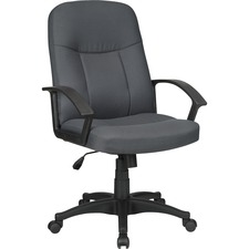 LLR 84554 Lorell Executive Fabric Mid-back Chairs LLR84554