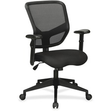 LLR84565 - Lorell Executive Mesh Mid-Back Chair