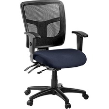 LLR8620101 - Lorell ErgoMesh Series Managerial Mid-Back Chair