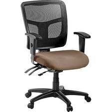 LLR8620103 - Lorell ErgoMesh Series Managerial Mid-Back Chair
