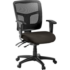 LLR8620104 - Lorell ErgoMesh Series Managerial Mid-Back Chair