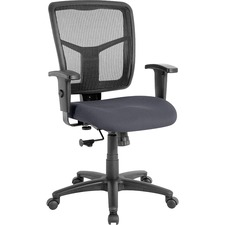 LLR 8620905 Lorell Managerial Mesh Mid-back Chair LLR8620905