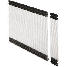 LLR87623 - Lorell Desktop Panel System Glazed Panel