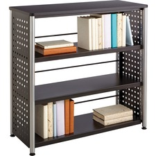 SAF 1602BL Safco Scoot Contemporary Design Bookcase SAF1602BL