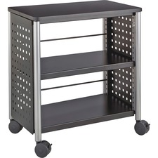 SAF 1604BL Safco Scoot Steel Contemporary Personal Bookcase SAF1604BL
