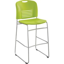 SAF 4295GS Safco Vy Sled Base Bistro Height Chair SAF4295GS