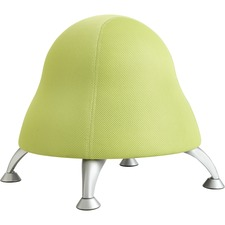 "Safco Runtz Ball Chair - Mesh Fabric Sour Apple Seat - Steel Powder Coated Frame - Grass Green - 22.5"" Width x 22.5"" Depth x 17"" Height"