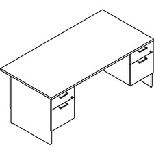 LAS31NEF3072FC - Lacasse Double Pedestal Desk