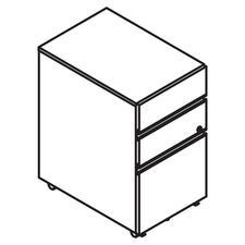 LAS4YMP1518UFB - Lacasse Mobile Pedestal